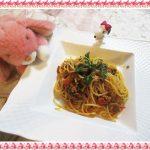 鯖缶パスタレシピで臭み無し!?『サバとスープセロリのトマトスパゲッティ』