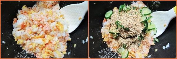 鮭と卵のちらし寿司 きのう何食べた
