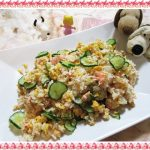 【きのう何食べた?ちらし寿司作ってみた】鮭と卵をまぜるだけで完成!簡単レシピ