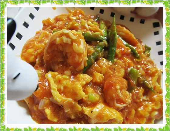 きのう何食べた エビチリ 炒り卵 レシピ 作り方