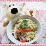 【カニカマコーンバターご飯】マツコの知らない世界レシピとうもろこしで作ってみた!