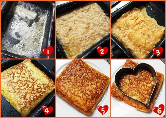 パン粉フレンチトースト 卵料理 家事ヤロウ 卵焼き器 作り方