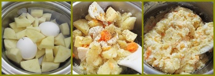 ポテトサラダ レシピ 作り方 ポテサラパケットディッシュ