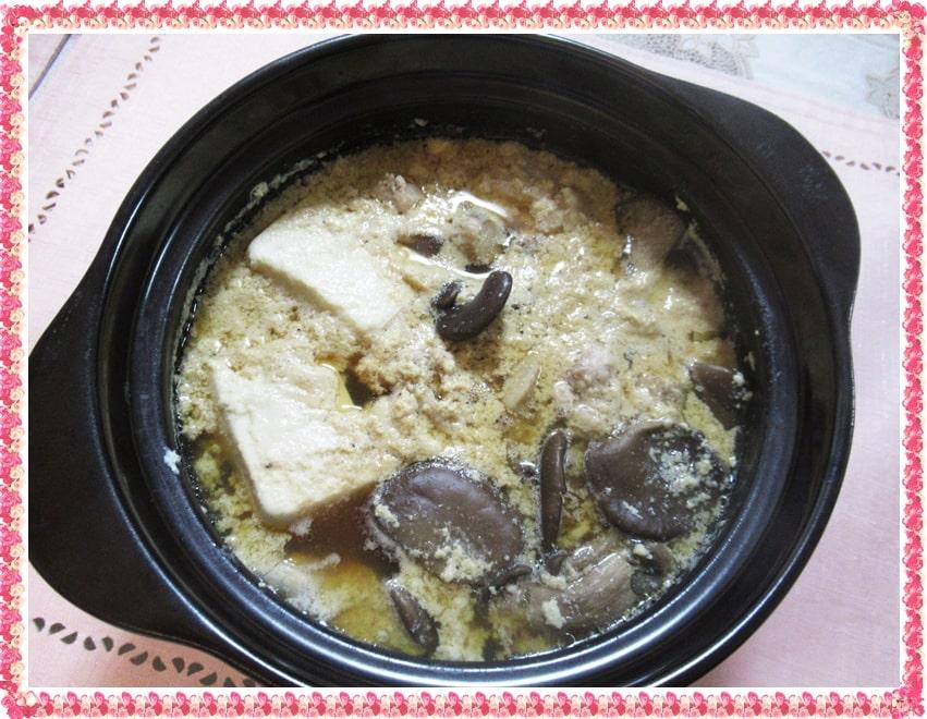 ヒラタケ 豚骨風鍋 豆乳 鶏もも肉 ヒルナンデス 浜内千波