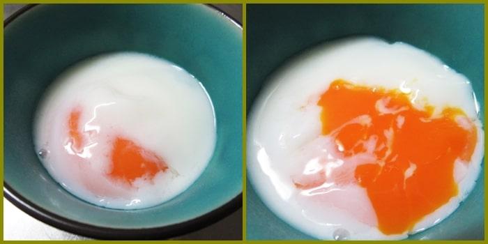温泉卵,ポーチドエッグ,作り方,レシピ,簡単,温泉たまご製造機