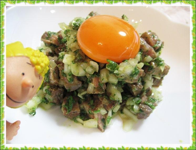 沸騰ワード ステーキ タルタル 志麻さん レシピ 作り方