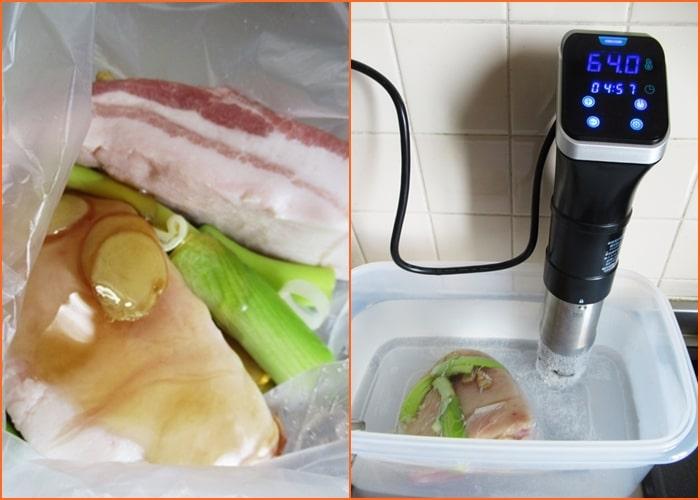 ポッサム,作り方,レシピ,韓国料理,ダイエット,豚ばら肉,低温調理,