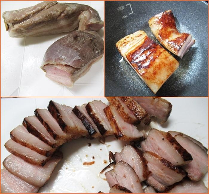 ポッサム,豚ばら肉,低温調理,作り方,調理時間,