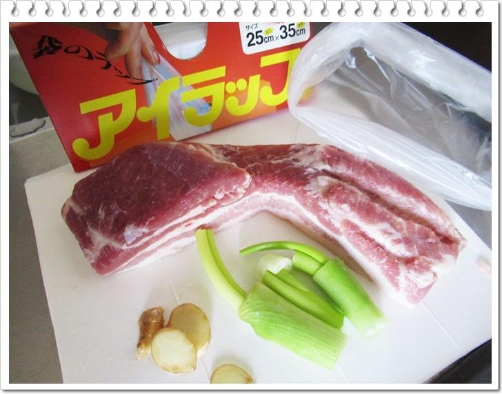 ポッサム,作り方,レシピ,韓国料理,ダイエット,豚ばら肉,低温調理,材料,