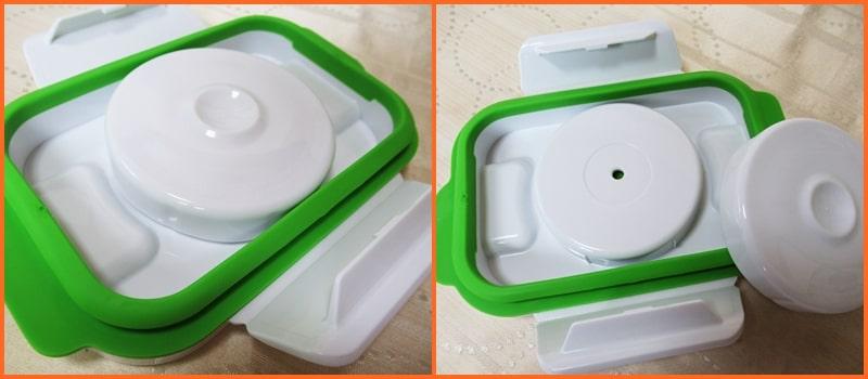 フォーサ 真空,保存容器,電子レンジ,食洗機,タッパー