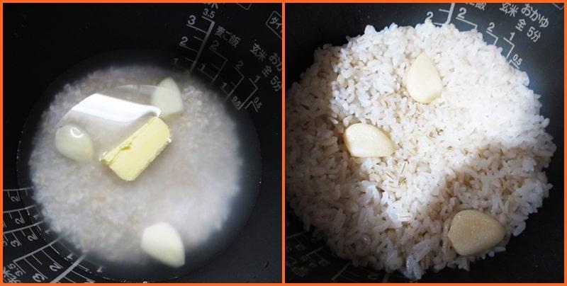 伝説の家政婦 シマ,沸騰ワード10,ニンニクご飯,材料,作り方,レシピ,