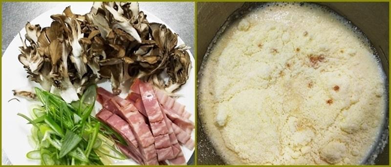 人気 簡単 カルボナーラうどん 豆乳 材料 粉チーズ