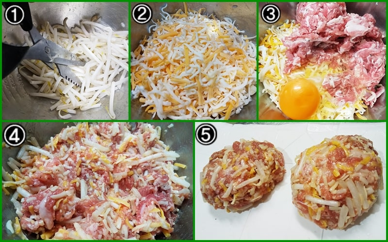 家政婦志麻さん メンチカツ レシピ 作り方 チーズメンチ もやし はさみ