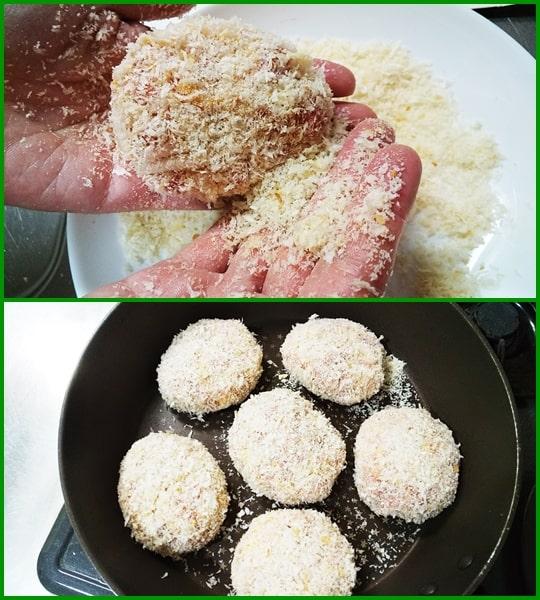 家政婦志麻さん メンチカツ レシピ 揚げ焼き チーズメンチ