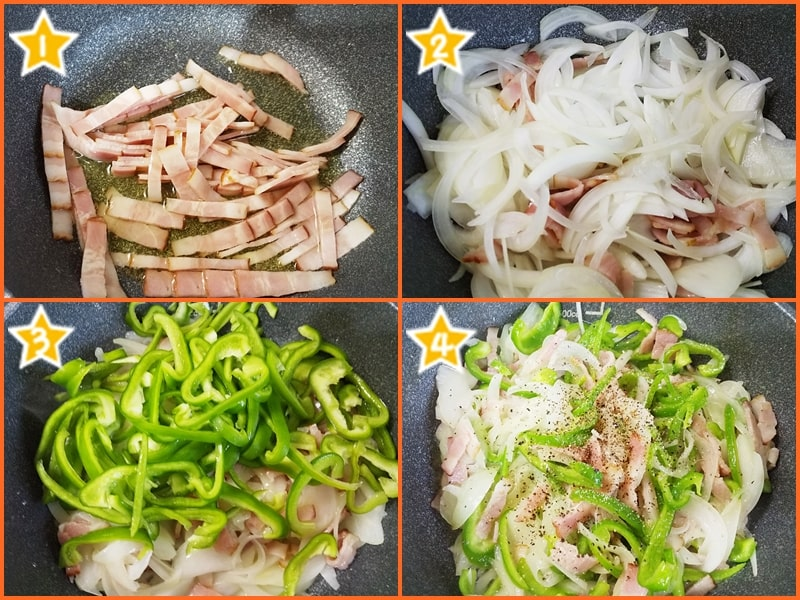 家政婦志麻さん,沸騰ワード,オムキッシュ,作り方,レシピ,ベーコン野菜炒め